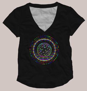 Galactic Center Women's Signature Shirt - Tetramode® | Psy Styles. Men & Womens Psychedelic Tops & Bottoms