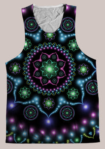 Lumindala : Mens // HELIOS TANK TOP - Tetramode® | Psy Styles. Men & Womens Psychedelic Tops & Bottoms