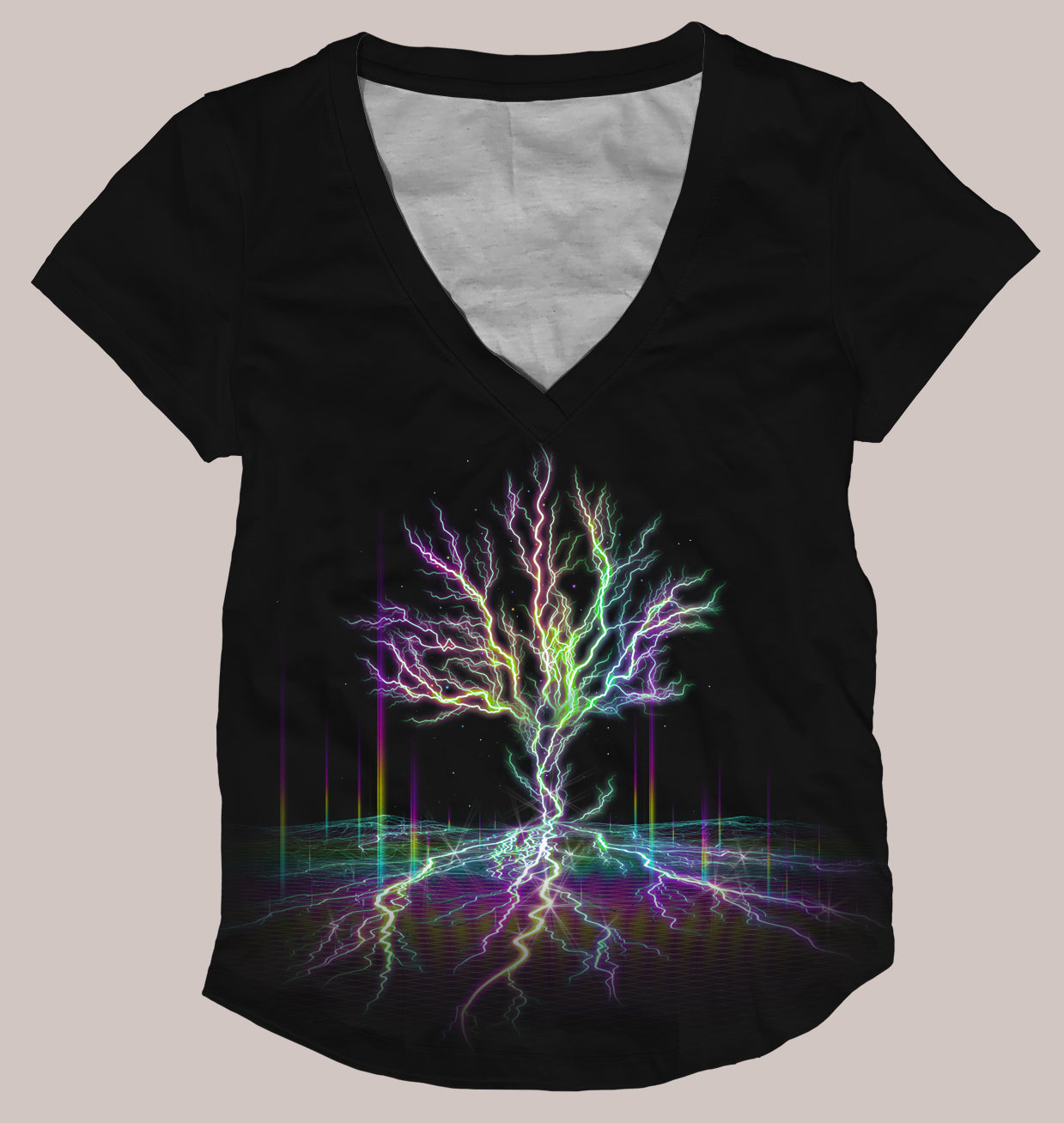 Electreecity of Life Women's Signature Shirt - Tetramode® | Psy Styles. Men & Womens Psychedelic Tops & Bottoms