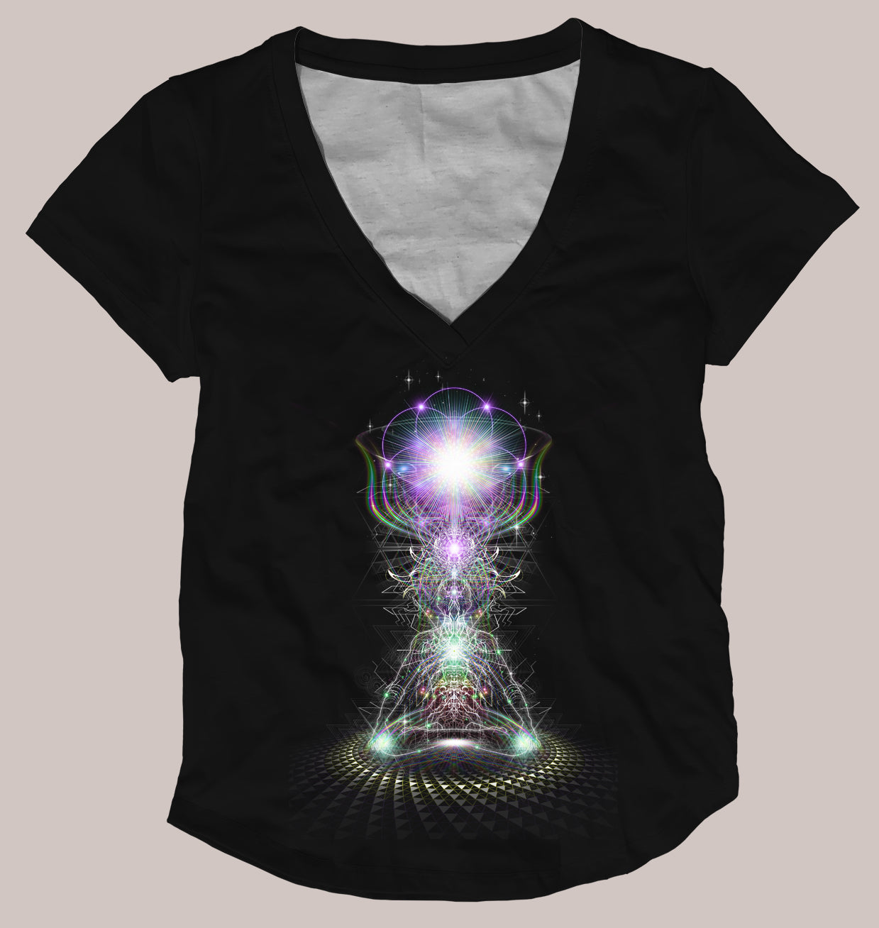 Crowning Genesis Women's Signature Shirt - Tetramode® | Psy Styles. Men & Womens Psychedelic Tops & Bottoms