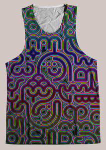 Psylingual :: Mens // HELIOS TANK TOP