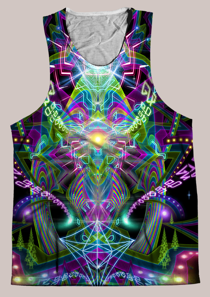 Ungulation : Mens // HELIOS TANK TOP - Tetramode® | Psy Styles. Men & Womens Psychedelic Tops & Bottoms