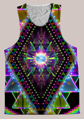 Vision Quest : Mens // HELIOS TANK TOP - Tetramode® | Psy Styles. Men & Womens Psychedelic Tops & Bottoms