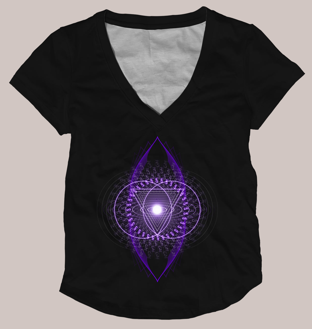 Ajna Women's Signature Shirt - Tetramode® | Psy Styles. Men & Womens Psychedelic Tops & Bottoms