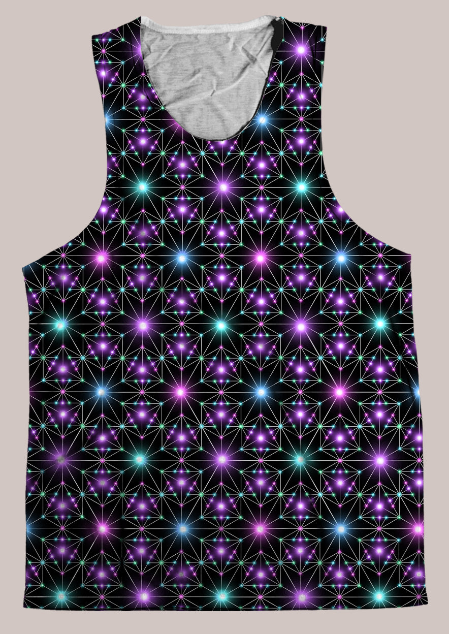 Star Map : Mens // HELIOS TANK TOP - Tetramode® | Psy Styles. Men & Womens Psychedelic Tops & Bottoms