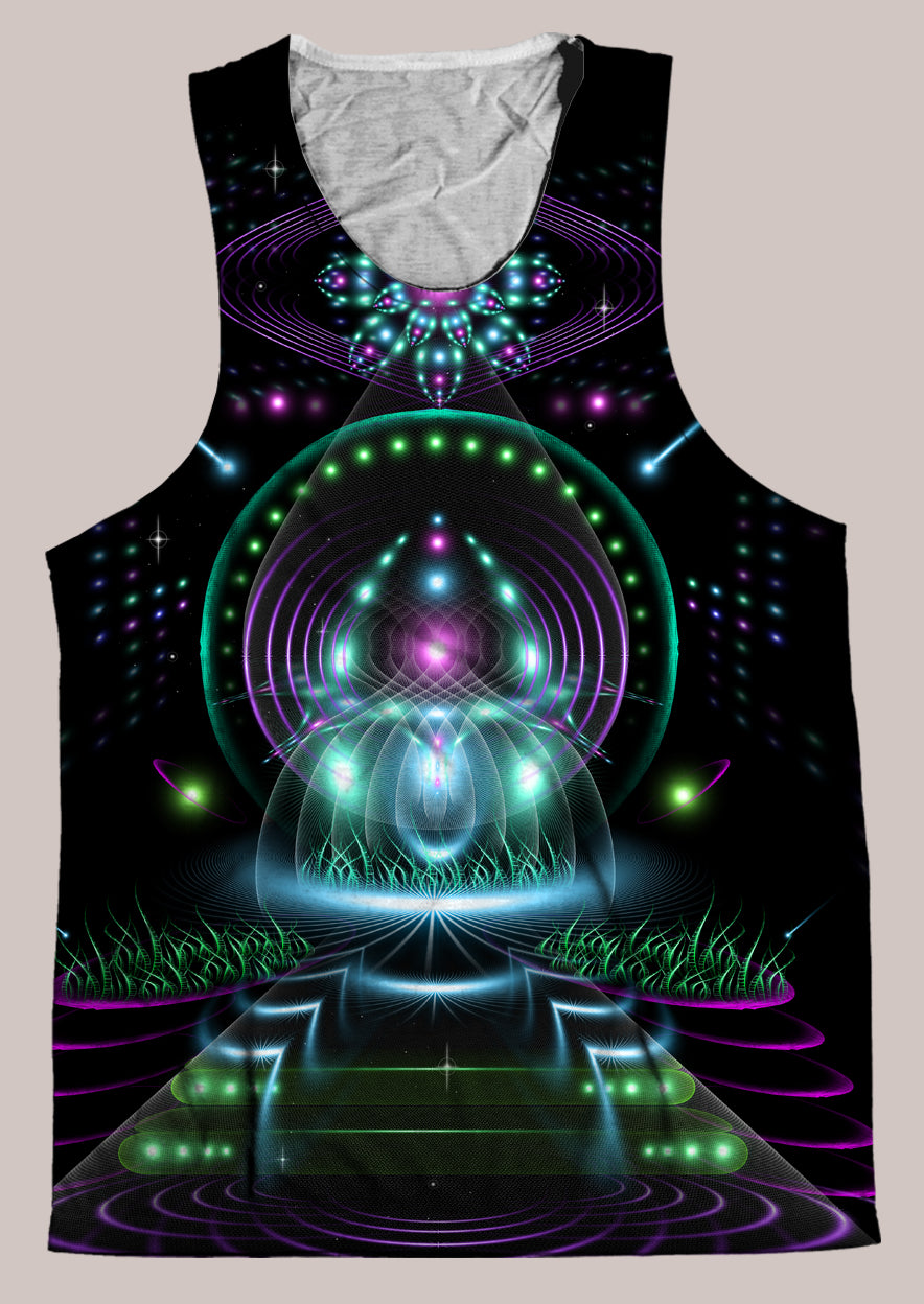Vibe Amplifier : Mens // HELIOS TANK TOP - Tetramode® | Psy Styles. Men & Womens Psychedelic Tops & Bottoms
