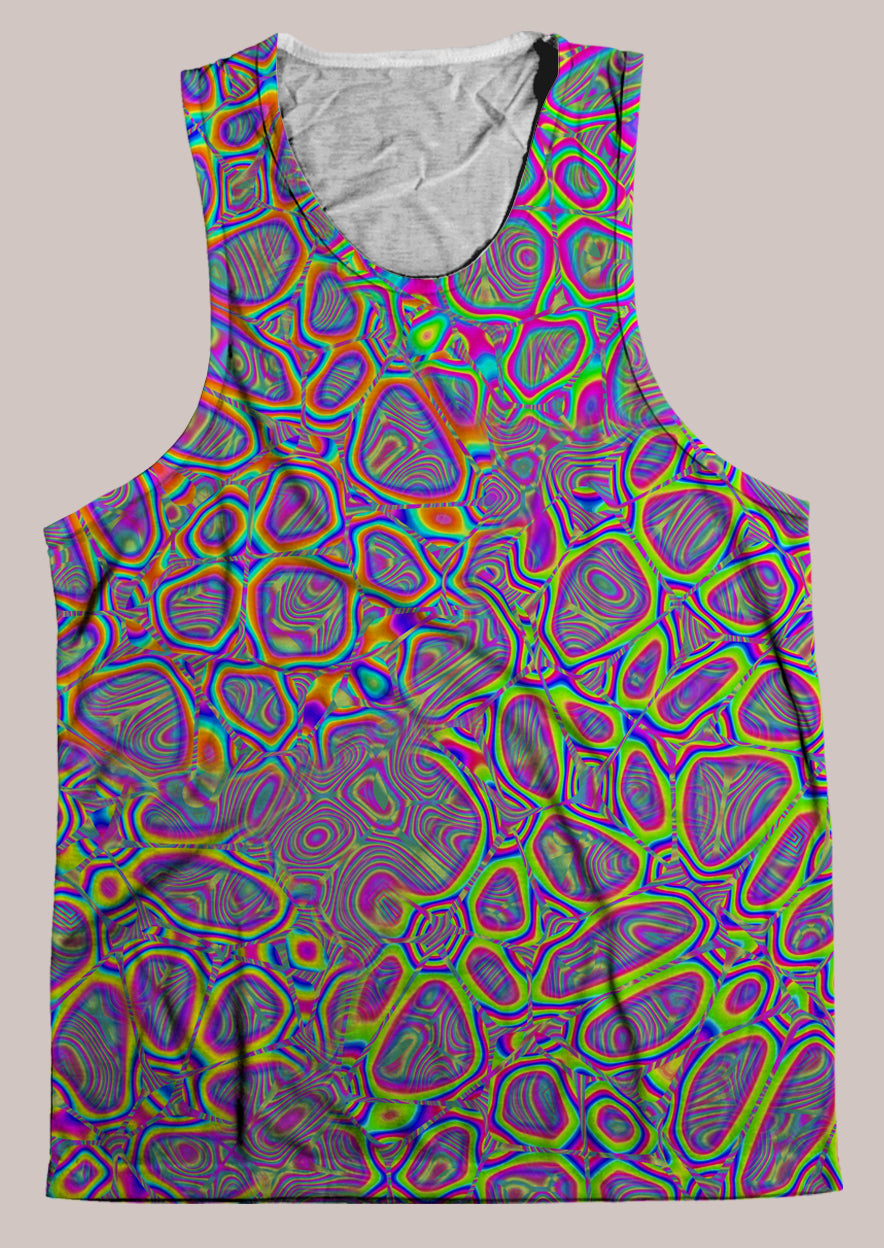 Metamorphosis : Mens // HELIOS TANK TOP - Tetramode® | Psy Styles. Men & Womens Psychedelic Tops & Bottoms