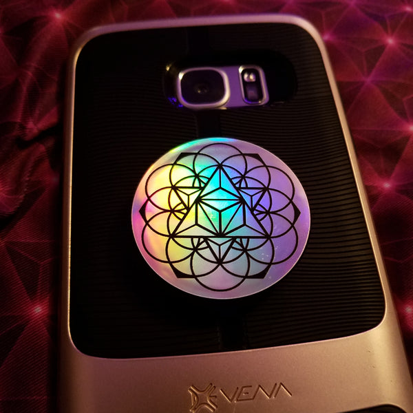 Tetra EQ Holographic Phone Grip