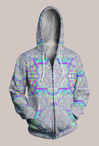 Enon DMT Designer Hoodie (Unisex) - Tetramode® | Psy Styles. Men & Womens Psychedelic Tops & Bottoms