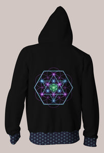 Tetra Eq Psychedelic Signature Hoodie (Unisex)