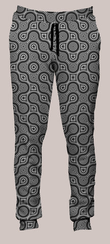 Thumbprint Portland Pants (Joggers) - Tetramode® | Psy Styles. Men & Womens Psychedelic Tops & Bottoms