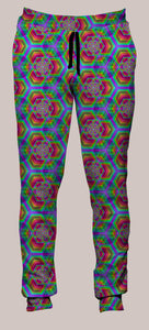 Hexafun Portland Pants (Joggers) - Tetramode® | Psy Styles. Men & Womens Psychedelic Tops & Bottoms