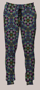 Hypergeometry Portland Pants (Joggers) - Tetramode® | Psy Styles. Men & Womens Psychedelic Tops & Bottoms