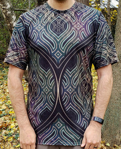 Ethos :: Men's All-Over Print Psychedelic Shirt