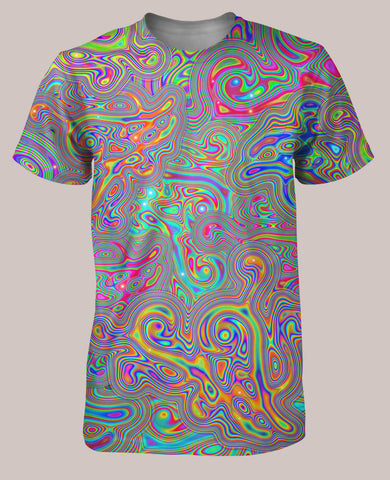 Liquisyrgic Men's All-Over print Shirt - Tetramode® | Psy Styles. Men & Womens Psychedelic Tops & Bottoms