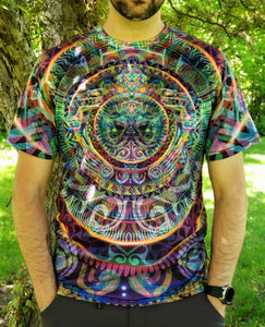 Primogenitor Men's All-Over print Shirt - Tetramode® | Psy Styles. Men & Womens Psychedelic Tops & Bottoms