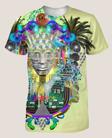 Neuro Paradise Men's Psyde Shirt - Tetramode® | Psy Styles. Men & Womens Psychedelic Tops & Bottoms