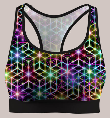 2CB :: Active Flux Bra - Tetramode® | Psy Styles. Men & Womens Psychedelic Tops & Bottoms