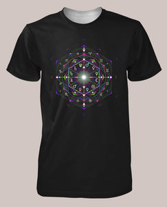 Chronos Men's Signature Shirt - Tetramode® | Psy Styles. Men & Womens Psychedelic Tops & Bottoms