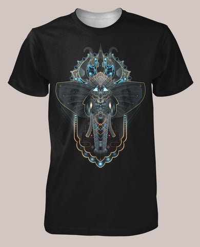Ganeshadroid Men's Signature Shirt - Tetramode® | Psy Styles. Men & Womens Psychedelic Tops & Bottoms