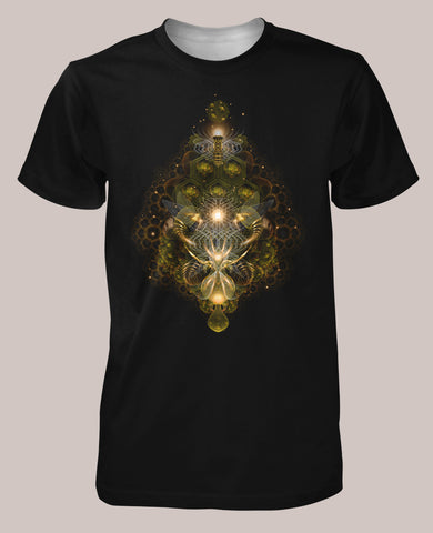 Hive Mind Men's Signature Shirt - Tetramode® | Psy Styles. Men & Womens Psychedelic Tops & Bottoms
