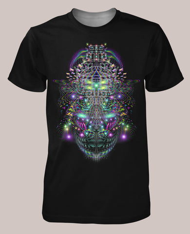 Huachamama Men's Signature Shirt - Tetramode® | Psy Styles. Men & Womens Psychedelic Tops & Bottoms