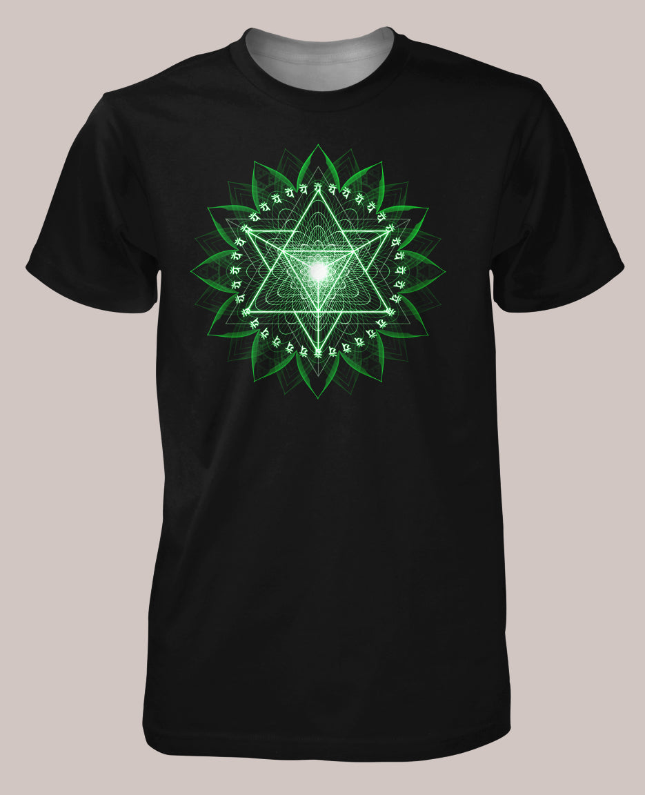 Anahata Men's Signature Shirt - Tetramode® | Psy Styles. Men & Womens Psychedelic Tops & Bottoms
