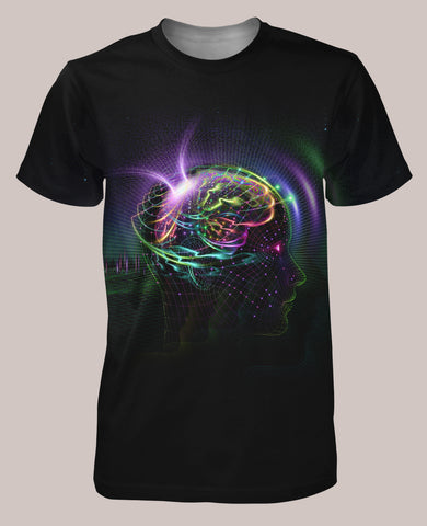 Reprogramming Men's Signature Shirt - Tetramode® | Psy Styles. Men & Womens Psychedelic Tops & Bottoms