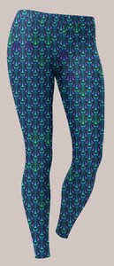 Aquanautic Unisex Leggings - Tetramode® | Psy Styles. Men & Womens Psychedelic Tops & Bottoms