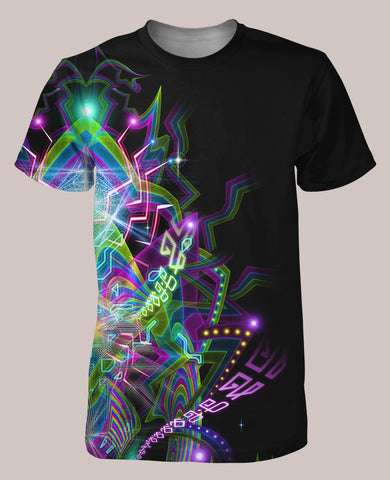 Ungulation Men's Psyde Shirt - Tetramode® | Psy Styles. Men & Womens Psychedelic Tops & Bottoms