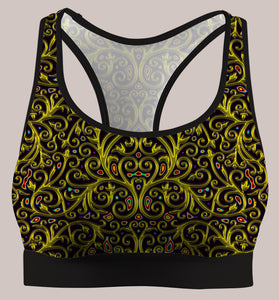 Arcanium :: Active Flux Bra - Tetramode® | Psy Styles. Men & Womens Psychedelic Tops & Bottoms