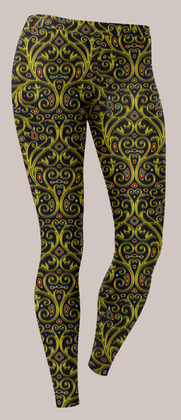 Arcanium Unisex Leggings - Tetramode® | Psy Styles. Men & Womens Psychedelic Tops & Bottoms