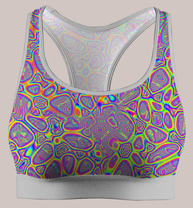 Metamorphosis :: Active Flux Bra - Tetramode® | Psy Styles. Men & Womens Psychedelic Tops & Bottoms