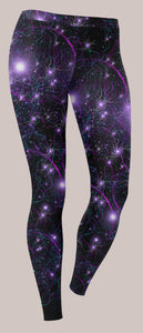 Laniakea Unisex Leggings - Tetramode® | Psy Styles. Men & Womens Psychedelic Tops & Bottoms