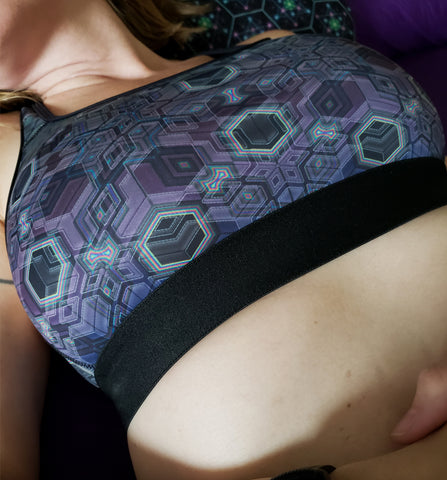 Platform :: Active Flux Bra - Tetramode® | Psy Styles. Men & Womens Psychedelic Tops & Bottoms