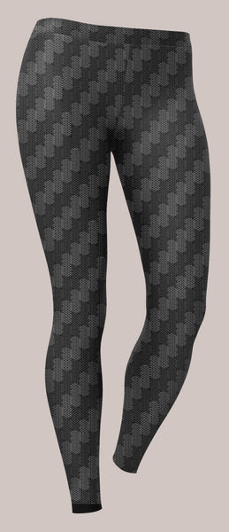 Carbon Unisex Leggings - Tetramode® | Psy Styles. Men & Womens Psychedelic Tops & Bottoms