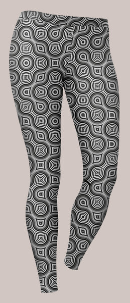 Thumbprint Unisex Leggings - Tetramode® | Psy Styles. Men & Womens Psychedelic Tops & Bottoms