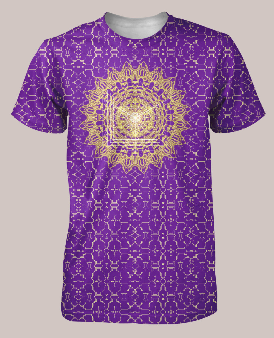 Techno Yantra Men's All-Over print Shirt