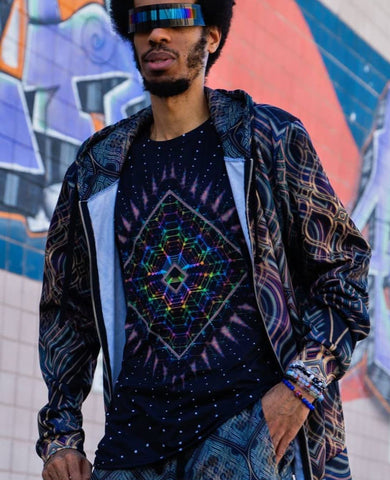 Lightspeed Men's All-Over print Shirt - Tetramode® | Psy Styles. Men & Womens Psychedelic Tops & Bottoms