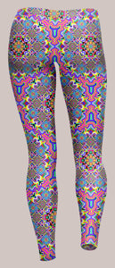 8-Bit Trip Unisex Leggings - Tetramode® | Psy Styles. Men & Womens Psychedelic Tops & Bottoms