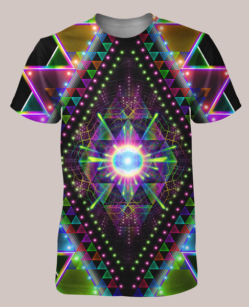 Vision Quest Men's All-Over print Shirt - Tetramode® | Psy Styles. Men & Womens Psychedelic Tops & Bottoms
