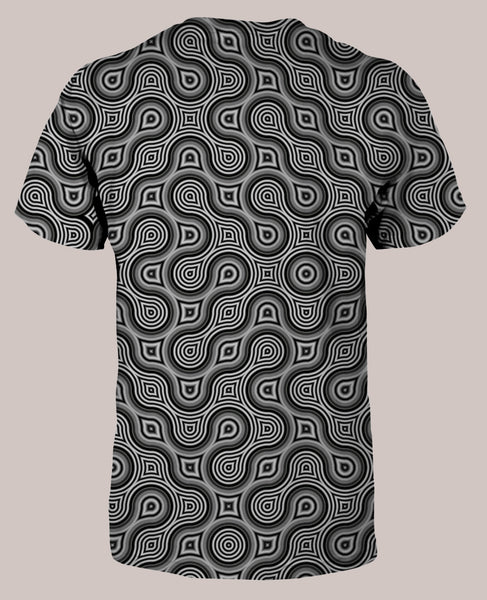 Thumbprint Men's All-Over print Shirt - Tetramode® | Psy Styles. Men & Womens Psychedelic Tops & Bottoms