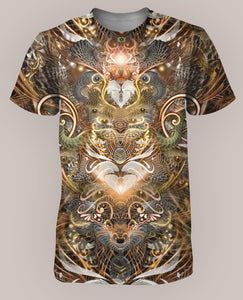 Natural Affinity Men's All-Over print Shirt - Tetramode® | Psy Styles. Men & Womens Psychedelic Tops & Bottoms
