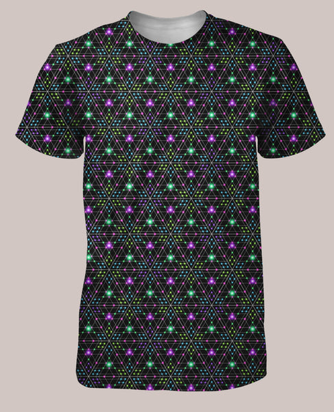 Trieeselation Men's All-Over print Shirt - Tetramode® | Psy Styles. Men & Womens Psychedelic Tops & Bottoms