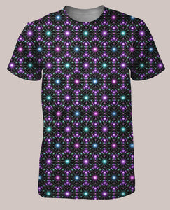 Star Map Men's All-Over print Shirt - Tetramode® | Psy Styles. Men & Womens Psychedelic Tops & Bottoms