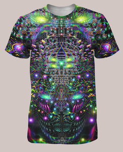 Huachamama Men's All-Over print Shirt - Tetramode® | Psy Styles. Men & Womens Psychedelic Tops & Bottoms