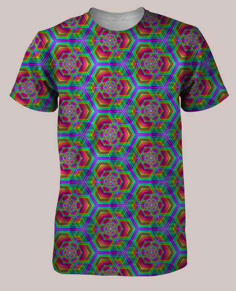 Hexafun Men's All-Over print Shirt
