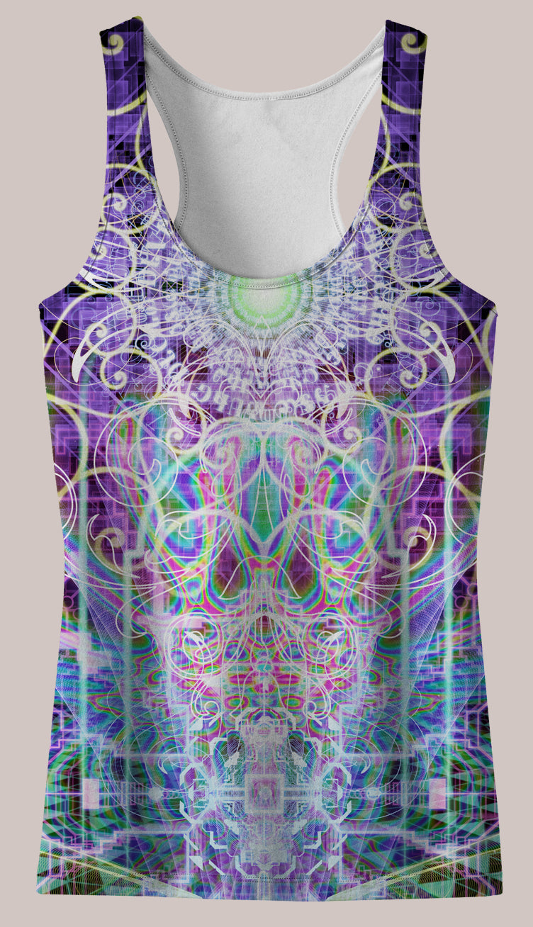 Fountain of Youth : Womens // HELIOS TANK TOP - Tetramode® | Psy Styles. Men & Womens Psychedelic Tops & Bottoms