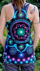 Lumindala : Womens // HELIOS TANK TOP - Tetramode® | Psy Styles. Men & Womens Psychedelic Tops & Bottoms