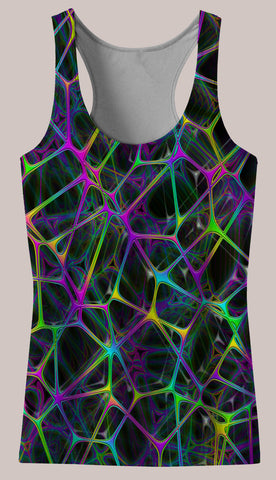 Psynet : Womens // HELIOS TANK TOP